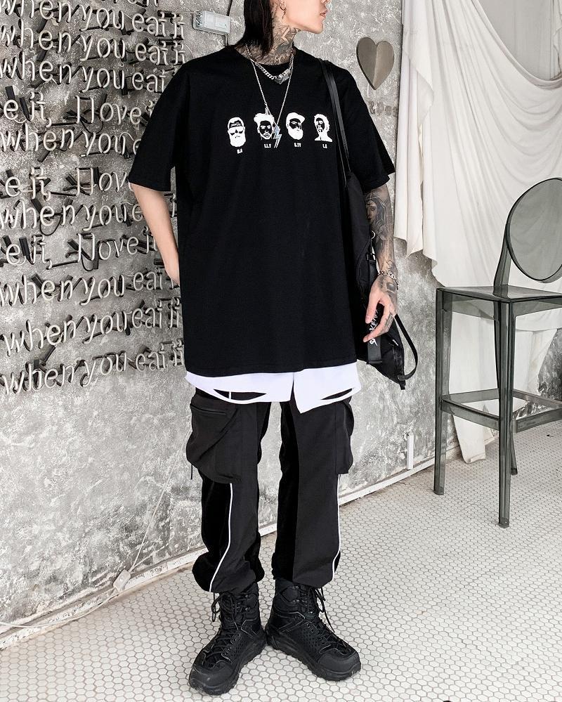 《2色》4guysTシャツの画像3